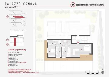 Palazzo Canova - appartamento 3 camere